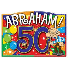50 jaar abraham versiering