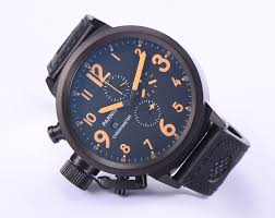 online buy whole 50mm watch from 50mm watch whole rs parnis 50mm men s quartz military watch orange number movement date chronograph 3bar waterproof casual sports