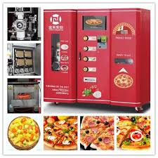 Pizza Vending Machine For Sale Inspiration Automatic Fresh Hot Pizza Vending Machine For Sale Shanghai Jinhe