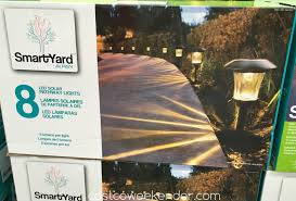 Alpan Solar Lights Sam S Club Smartyard Led Solar Pathway Lights Model 10193 8 Pack