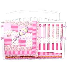 crib bedding trend lab oh the places you ll go 4 piece girl dr seuss baby luxury crib bedding