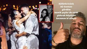 Edis ile sarmaş dolaş dansı dansı eleştirilen Zeynep Bastık'ın eşi Tolga  Akış sessizliğini bozdu