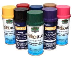 Brillo Leather Color Spray Dye Chart How To Spray Paint Shoes Manhattan Wardrobe Supply
