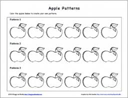 Apple Pattern Classy Math Patterns Using Apple Prints Buggy And Buddy