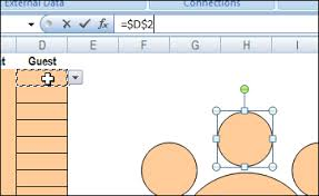 Make A Seating Chart Plan Your Party Seating With Excel Contextures Blog