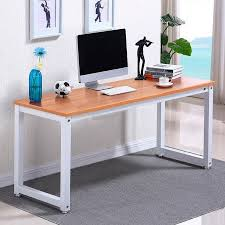 home office computer desk furniture furniture. ktaxon wood computer desk pc laptop table workstation study home office furniturebrown furniture c