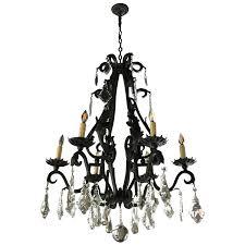 viyet designer furniture lighting traditional spanish baroque style six light chandelier