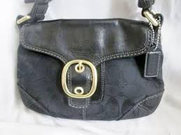 COACH 11441 Leather BLEEKER FRONT FLAP Handbag Hobo Shoulder Bag BLACK