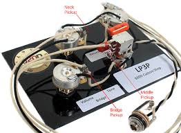 gibson wiring harness gibson image wiring diagram gibson les paul black beauty 3 pickup wiring harness bourns reverb on gibson wiring harness