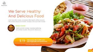 Presentation Foods Barvara Food Presentation Template