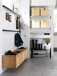 Ikea Mud Room ikea mudroom shelves for bins for each person hooksvfor coats 3212 by uwakikaiketsu.us