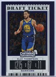 Klay Thompson Draft Ticket 2019 ...