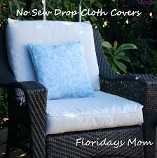 Patio Chair Seat Covers Outdoor Cushion Cover Replacement