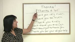Polite English 8 Ways To Say Thank You In English Engvid