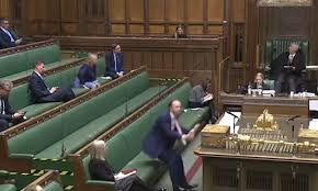 Sir charles walker gives it to matt hancock. Health Secretary Is Compared To Toy Story S Woody After Video Showed Him Flopping Into His Seat Daily Mail Online