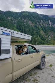 30 Best Winter Snow Camping with Pop-Up Truck Campers images in 2019