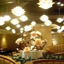 lotus flower chandelier uk capiz large