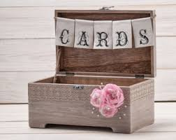 view cards and recipe boxes by inesesweddinggallery on etsy Wedding Card Holder Chest wedding rustic cards box rustic wood card holder wedding card chest wedding card gift box with treasure chest wedding card holder
