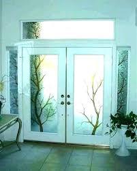 glass front door window coverings front door window coverings front door sidelight window curtains front door