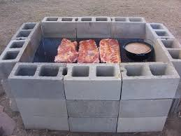 I placed the pintos over the hot coals and the ribs in the middle of the  pit for indirect heat.