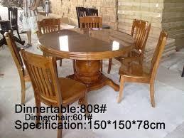 round dining set 6 seater