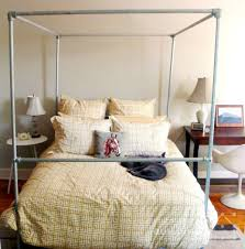 diy twin bed canopy frame | Design Your Wall