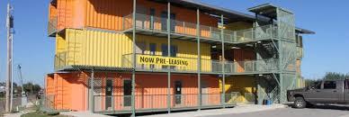 San Antonio Developer Creates Shipping Container Apartments