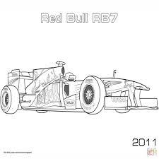 25 Ontwerp Formule 1 Auto Tekening Kleurplaat Mandala Kleurplaat