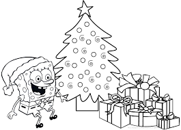 Small Picture Bunch Ideas of Spongebob Christmas Coloring Pages For Your