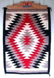 native american rugs for native rugs vintage native rug eye dazzler pattern red black white native american rugs