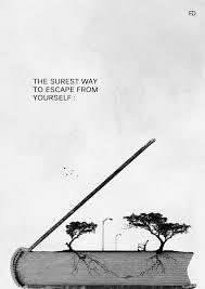 Quote Black And White Quotes Book Sure Freedom Way Escape Free Read Classy Escape Quotes