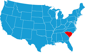 Image result for south carolina map