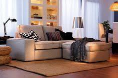 ikea kivik kanapé és lábtartó living room