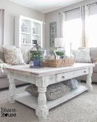 Shabby Chic White Coffee Table Chippy White Lime Finished Coffee Table Shabby Chic Pillow