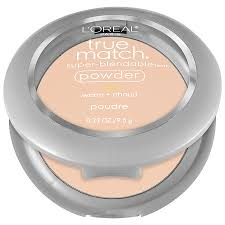 l oreal paris true match super blendable powder porcelain w10 33 oz