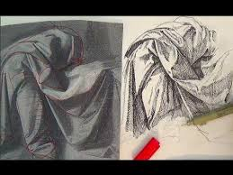 Drapery Drawing Pen And Ink Drawing Tutorials How To Draw Drapery Like Leonardo Da Vinci