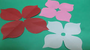 Paper Flower Designs How To Make Simple Easy Paper Cutting Flower Designs 2 Diy Tutorial By Paper Folds Step By Step