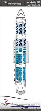 ba boeing 787 seatmap credits british airways