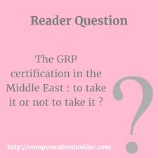 Certified Equity Professional Designation The Grp Certification In The Middle East To Take It Or Not To