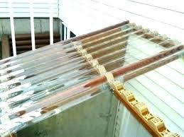 how to install corrugated plastic roofing corrugated plastic roofing home depot roof panels clear installation instructions