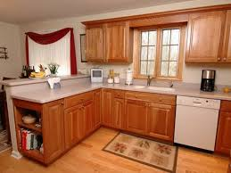 kitchen ideas wood cabinets photo 8
