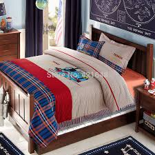 free 100 cotton kids children cartoon thomas train bedding set 4 5pcs twin