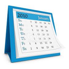 2010 Calendar January January 2010 Calendar Series Stock Photos Freeimages Com