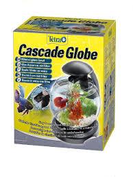 <b>Аквариум Tetra Cascade</b> Globe 6.8l ЧЕРНЫЙ - Круглый аквариум ...