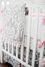 nursery bedding stella gray collection tap to expand