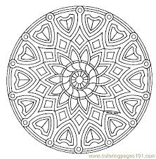 Small Picture mandala coloring page printable complex coloring pages complex