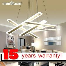 hanging a chandelier in a bedroom new modern led hanging chandelier for living room bedroom lighting
