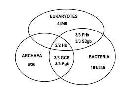 Venn Diagram Three A Venn Diagram Of The Distribution In The Three Kingdoms Of Life Of