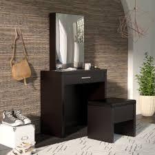 contemporary makeup vanity table. laporte vanity set with mirror contemporary makeup table d