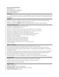 Database Testing Resumes Software Tester Resume Sample Of For Experienced T Ooxxoo Co